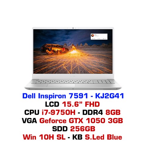 Laptop Dell Inspiron 15 7591 (2019)