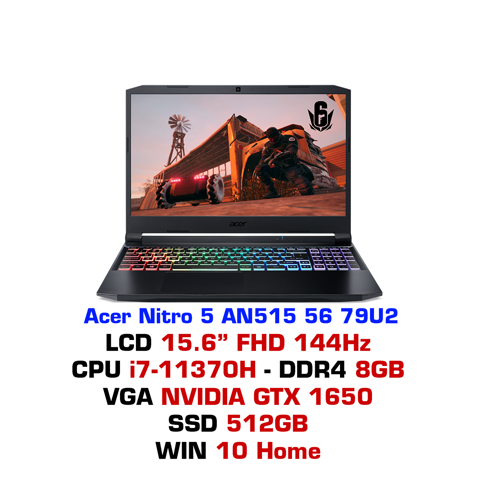 Laptop gaming Acer Nitro 5 AN515 56 79U2