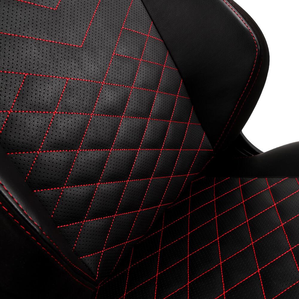 Ghế Gamer Noble Chair - Hero Series Black/Red