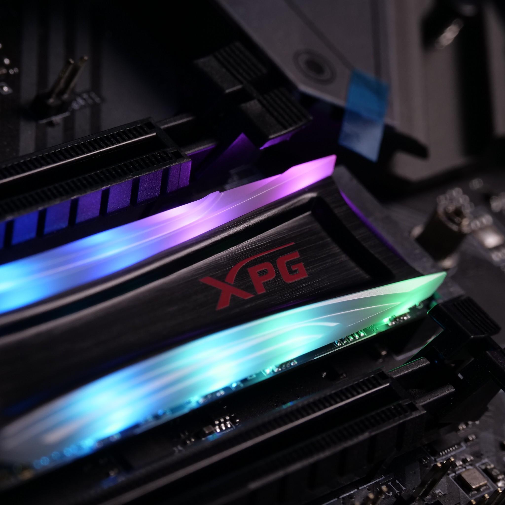 SSD XPG SPECTRIX S40G RGB LED 256GB