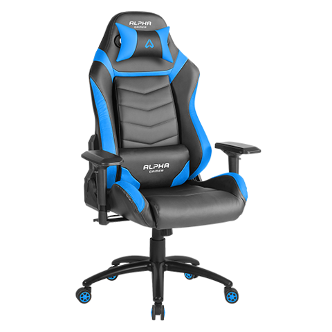 Ghế Gamer Alpha Gamma Black/Blue