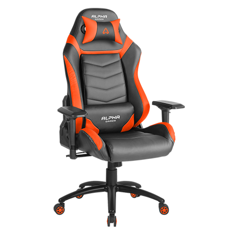 Ghế Gamer Alpha Gamma Black/Orange