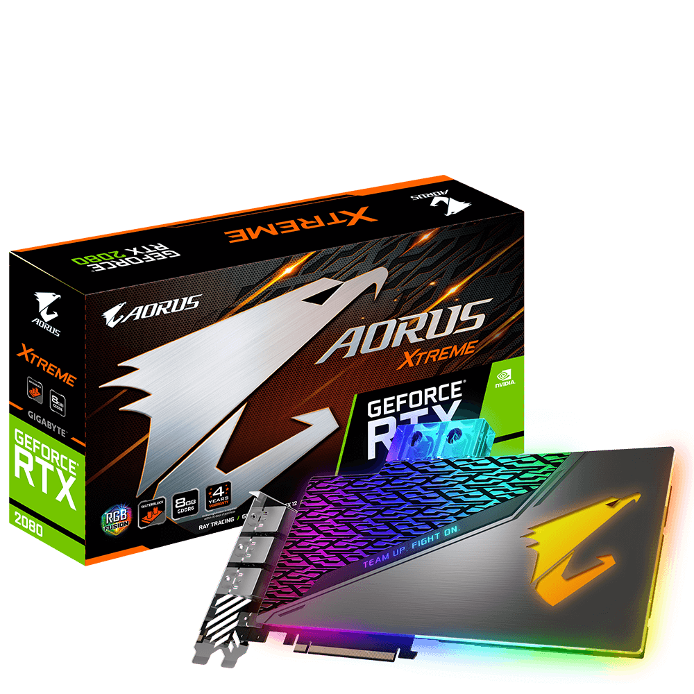 AORUS GeForce RTX™ 2080 XTREME WATERFORCE WB 8G