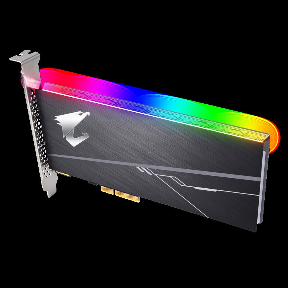 SSD AORUS RGB AIC NVMe SSD 512GB - PCl Express Card