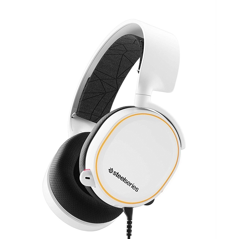 SteelSeries Arctis 5 White Edition - 2019 Edition