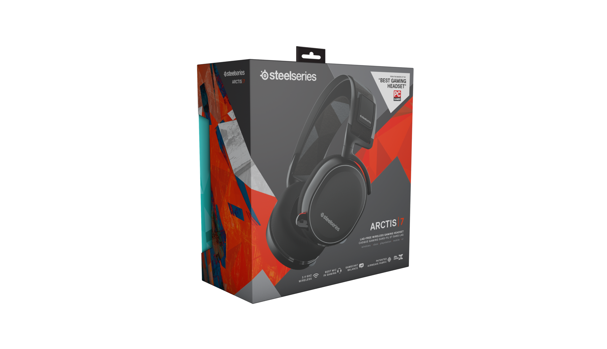 SteelSeries Arctic 7 Black Edition