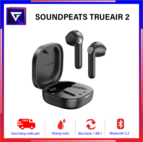 Tai nghe true wireless Soundpeats TrueAir  2