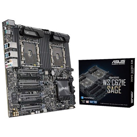 ASUS WS C621E SAGE (Dual CPU Workstations)