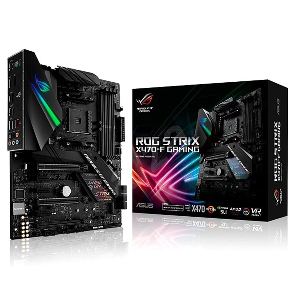ASUS X470 ROG STRIX F - GAMING  (AMD Socket AM4)