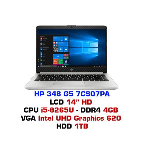 Laptop HP 348 G5 7CS07PA