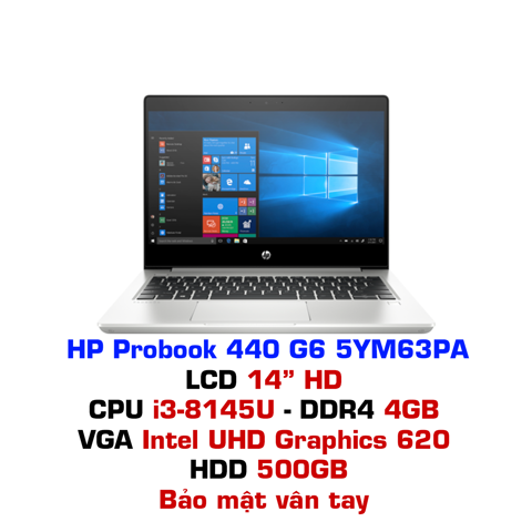 Laptop HP Probook 440 G6 5YM63PA