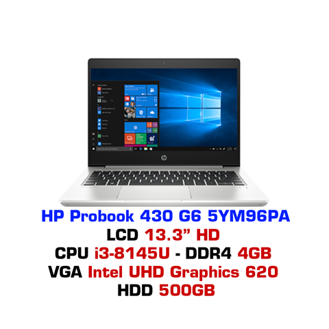 Laptop HP Probook 430 G6 5YM96PA