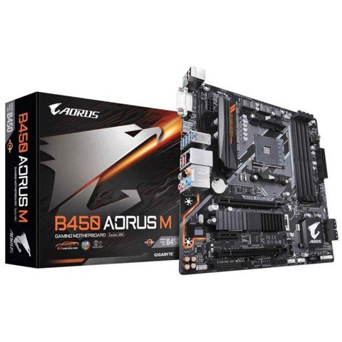GIGABYTE B450 AORUS M (AMD Socket AM4)