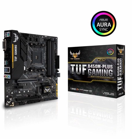 Main B450m TUF Plus Gaming (Socket AM4)