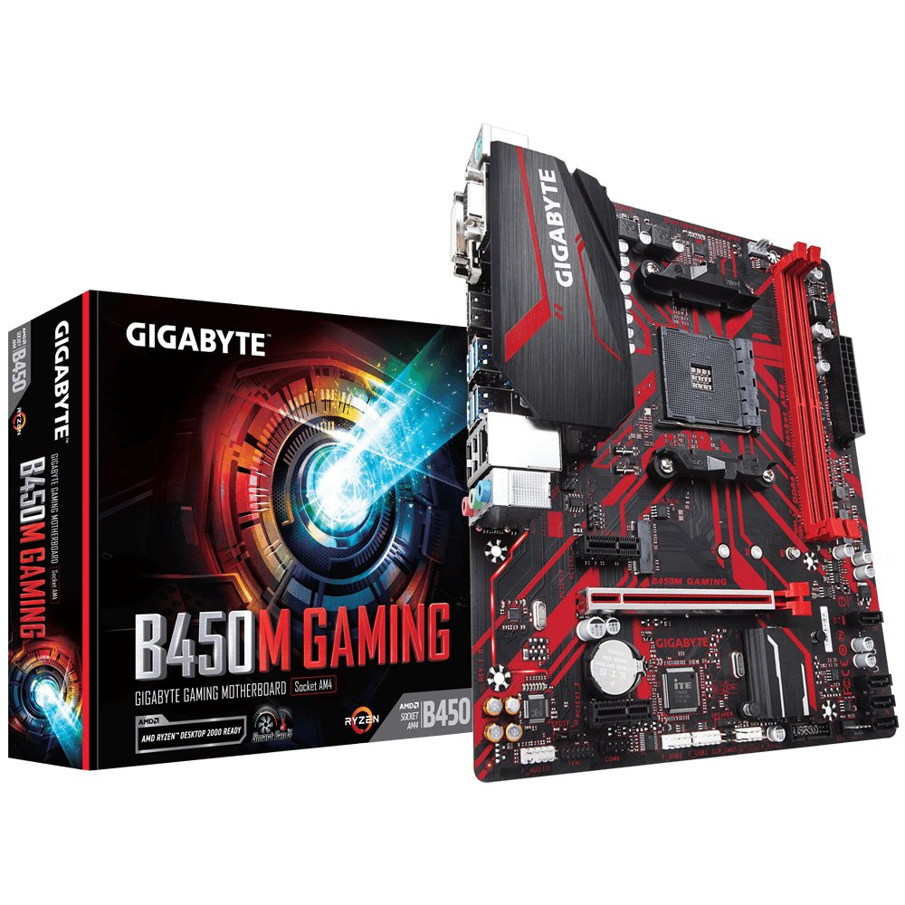 GIGABYTE B450M Gaming (AMD Socket AM4)