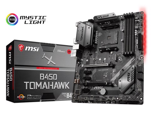 MSI B450 TOMAHAWK (AMD Socket AM4)