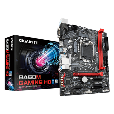 GIGABYTE B460M GAMING HD (rev. 1.0)