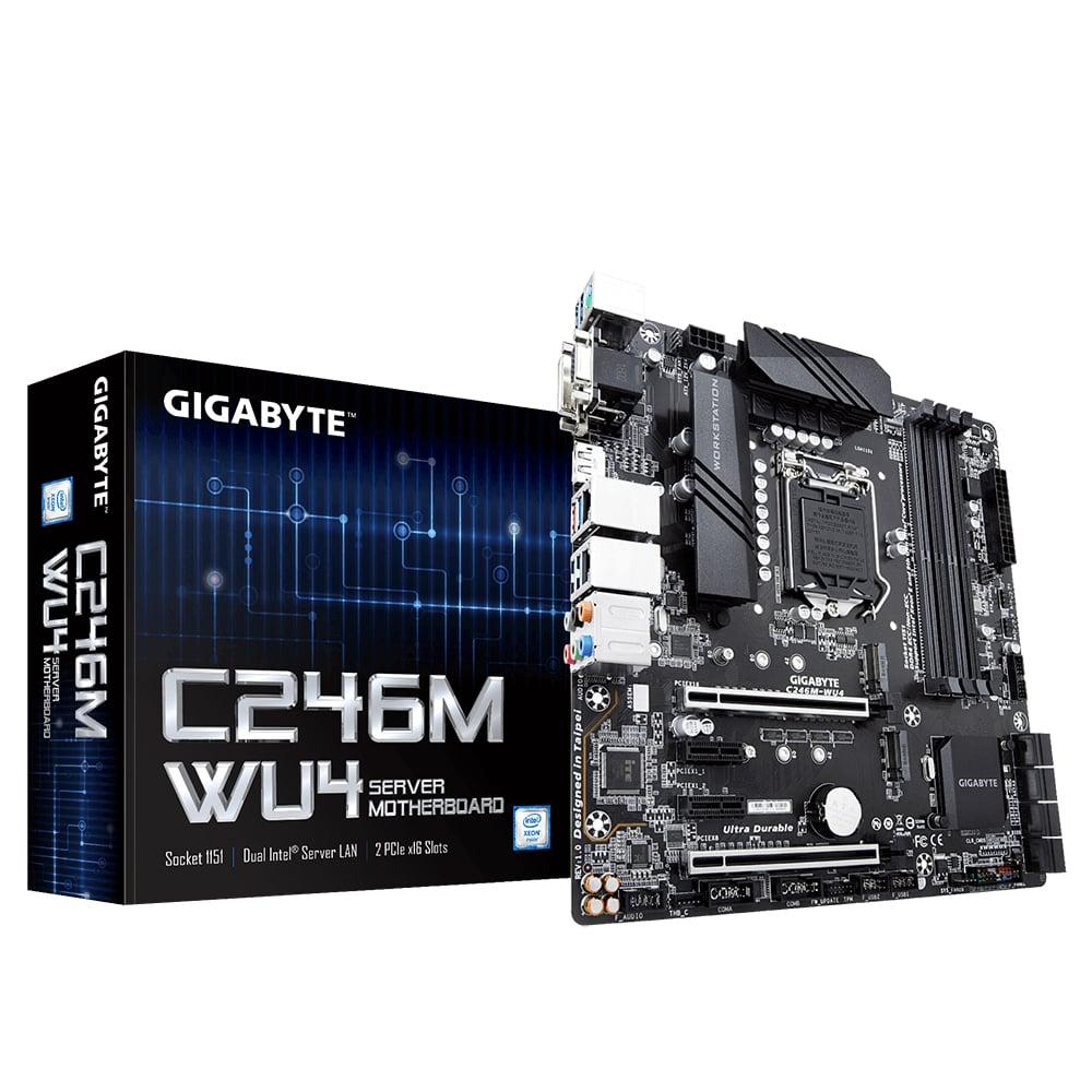 GIGABYTE WS C246M-WU4 LGA1151