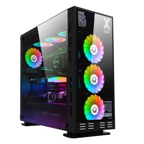 Case FORGAME DX Tempered Glass