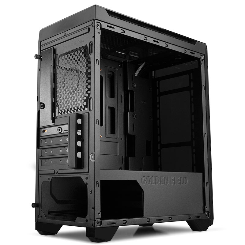 Case Golden Field N55B BLACK M-ATX