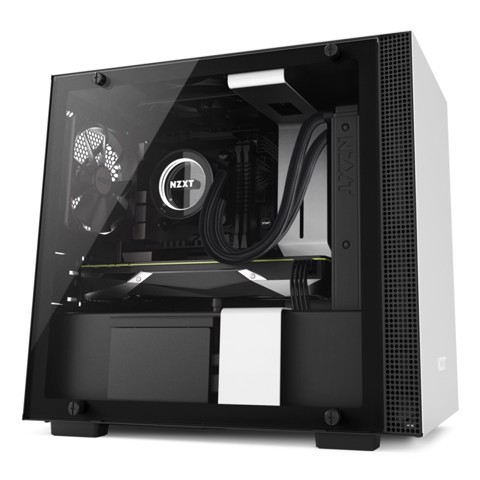 NZXT H200i White - Black (Mini ITX)