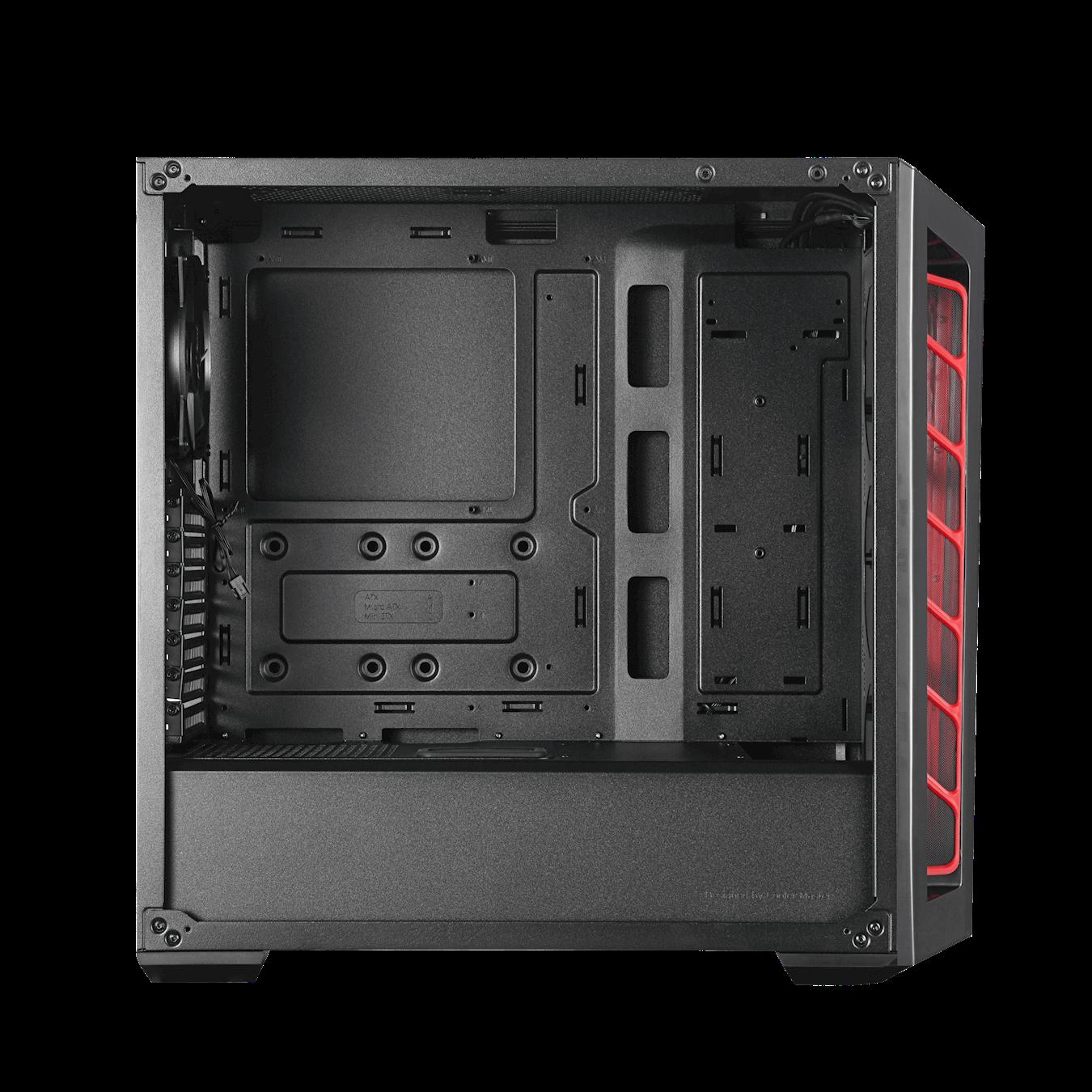 Case Coolermaster MASTERBOX MB520 TG RED
