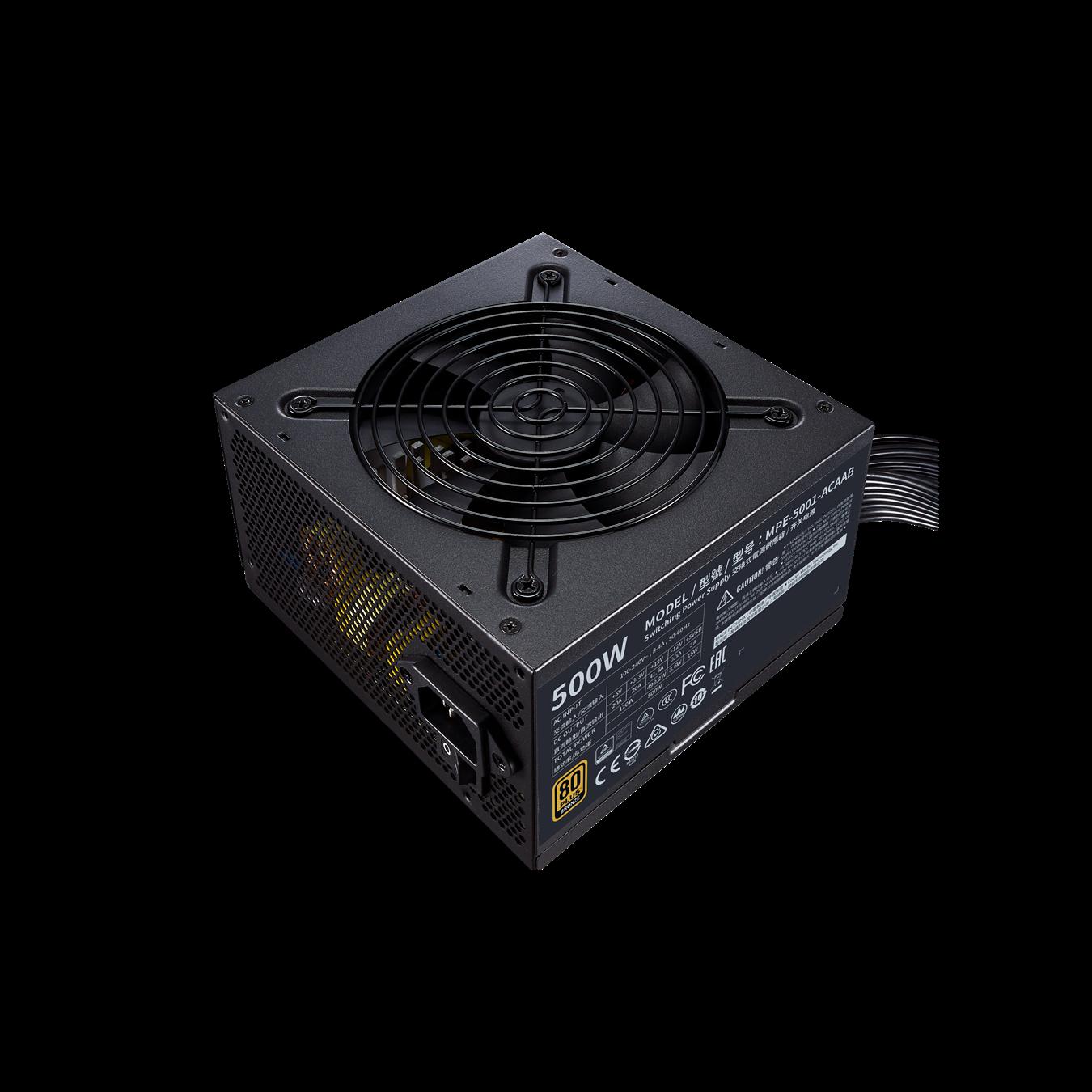 ( 500W ) Nguồn máy tính Cooler Master MWE 500 BRONZE - V2