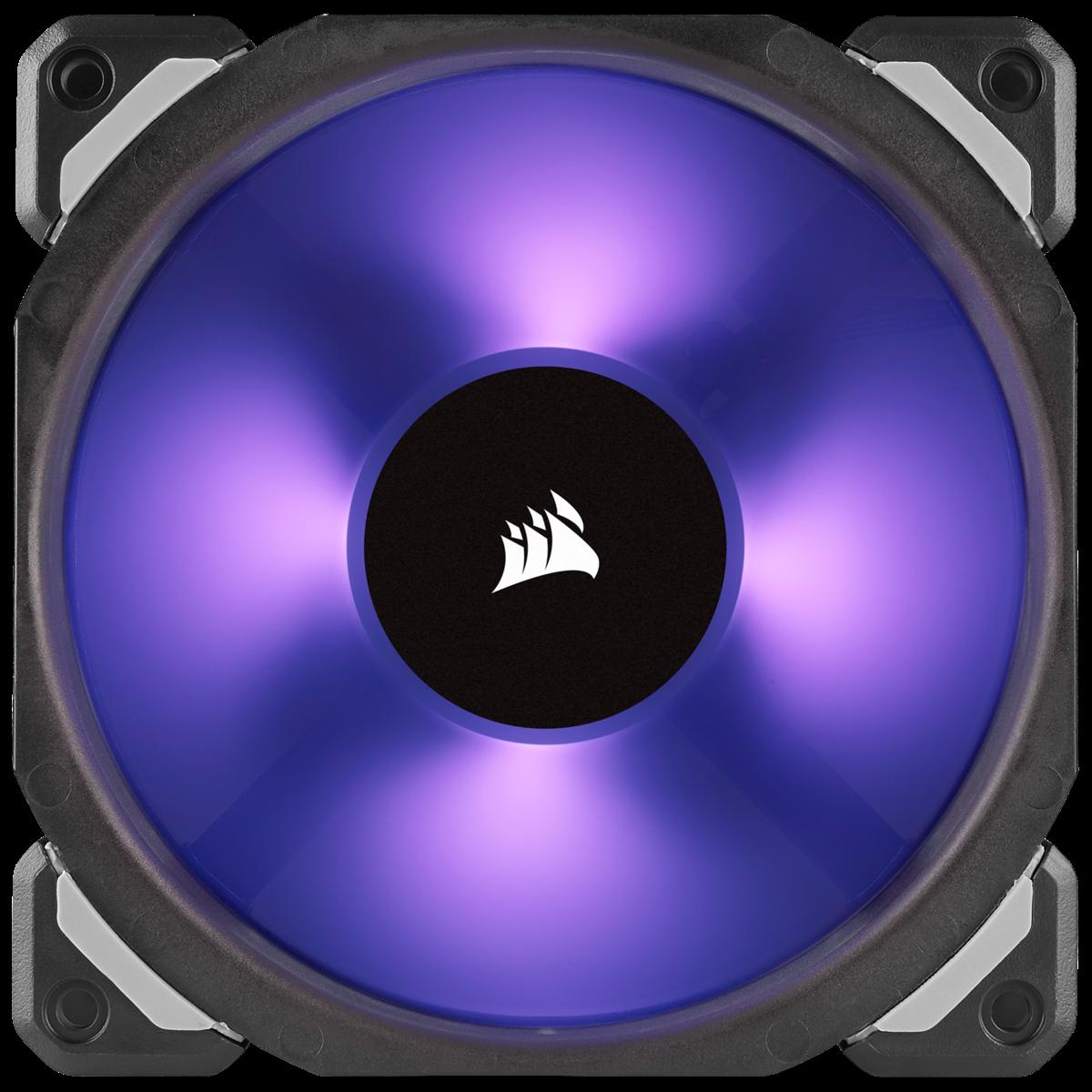 Corsair ML120 RGB LED PWM Fan triple-pack