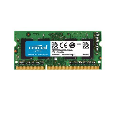 (8GB DDR4 1x8G 2400) Crucial  SODIMM Laptop