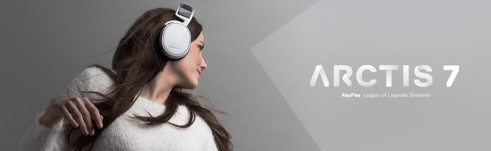 SteelSeries Arctic 7 White Edition
