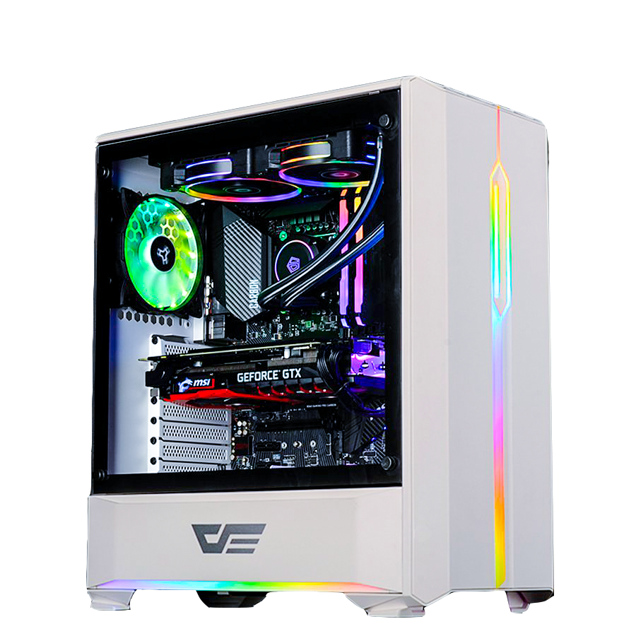 Case Dark Flash T20 White - Tempered Glass Case