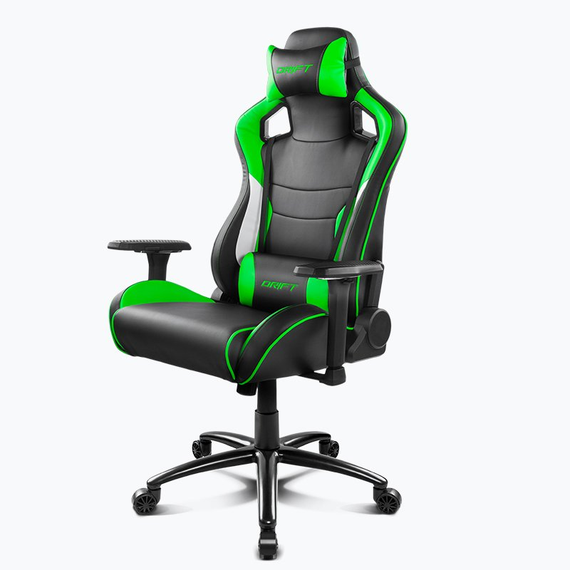 Ghế Gamer Drift DR400 Black/Green/White