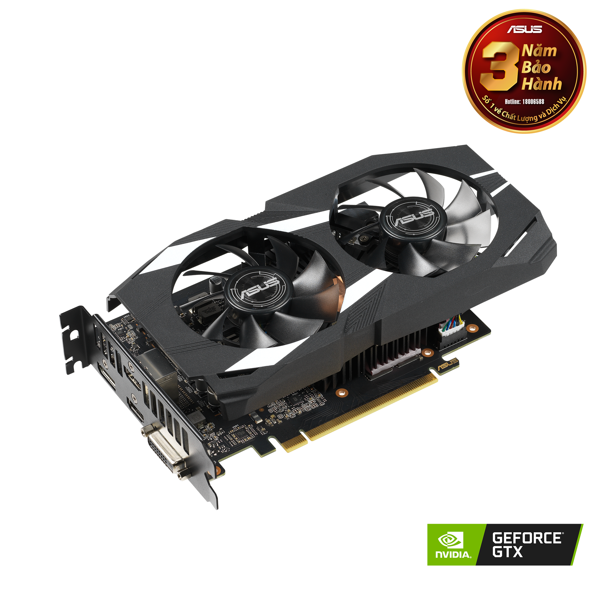 ASUS Dual GeForce® RTX 1660 Ti OC Edition 6GB GDDR6