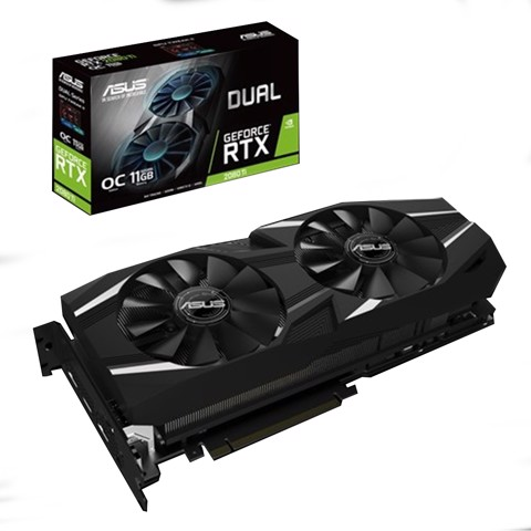 ASUS Dual GeForce® RTX 2080 Ti OC edition 11GB GDDR6