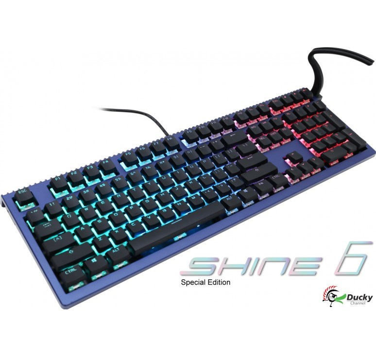 Ducky Shine 6 Blue Coral Special Edition