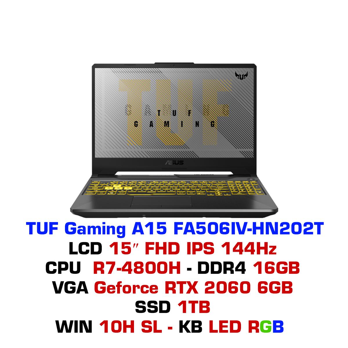 Laptop ASUS TUF Gaming A15 FA506IV - HN202T