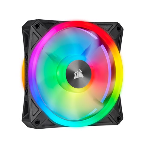Fan Corsair QL120 RGB LED 120mm Fan ( 1 Fan )