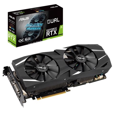 ASUS Dual GeForce® RTX 2060 OC Edition 6GB GDDR6