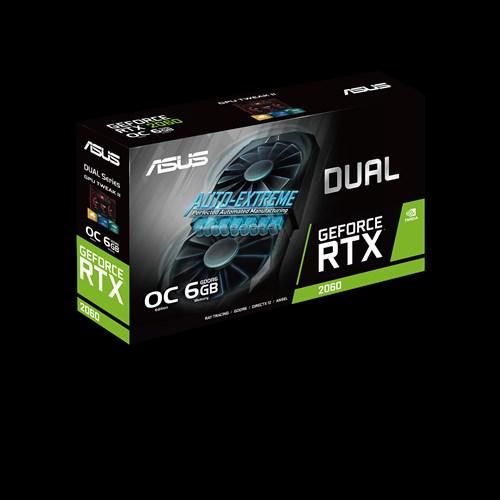 ASUS Dual GeForce® RTX 2060 OC Edition 6GB GDDR6