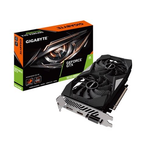 GIGABYTE GTX 1650 Super Winforce OC 4GB GDDR6