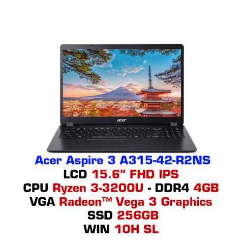 Laptop Acer Aspire 3 A315-42 R2NS (R3-3200U)