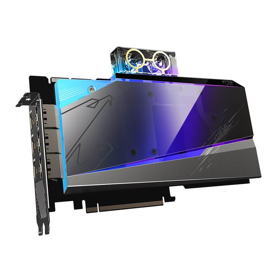 AORUS GeForce RTX 3090 XTREME WATERFORCE WB 24G