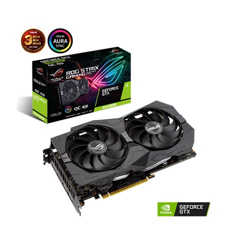 ASUS ROG STRIX GTX 1650 Super OC 4GB GDDR6