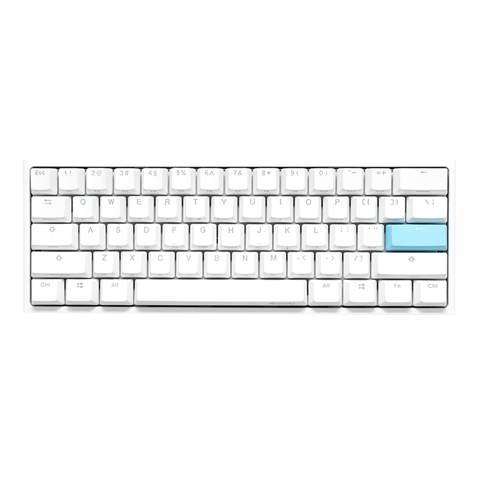 Bàn phím Ducky One 2 Mini RGB Pure White