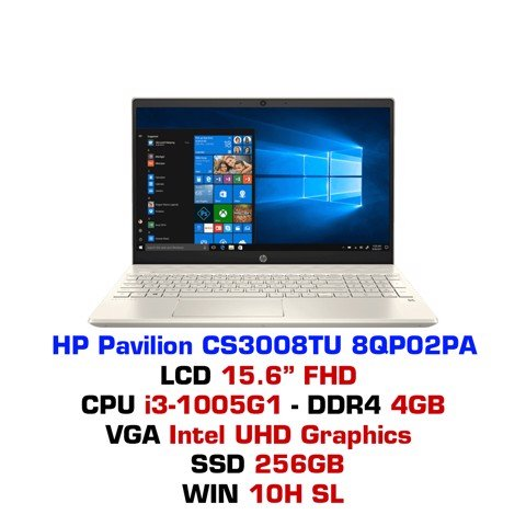 Laptop HP Pavilion 15 CS3008TU 8QP02PA