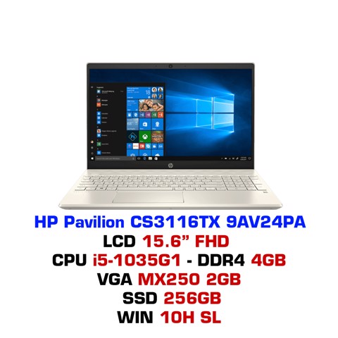 Laptop HP Pavilion 15 CS3116TX 9AV24PA