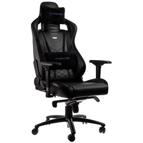 Ghế Gaming Noble Chair - Epic Series Black/Blue