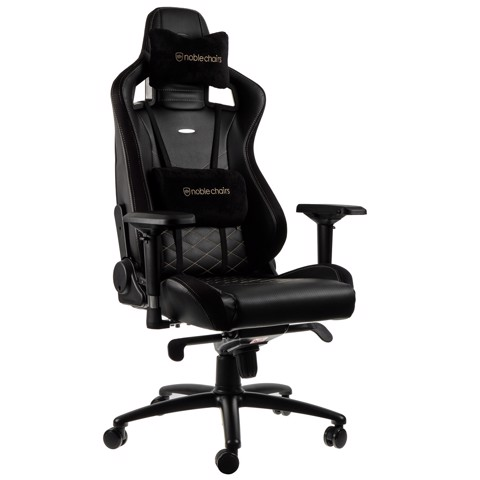 Ghế Gaming Noble Chair - Epic Series Black/Gold