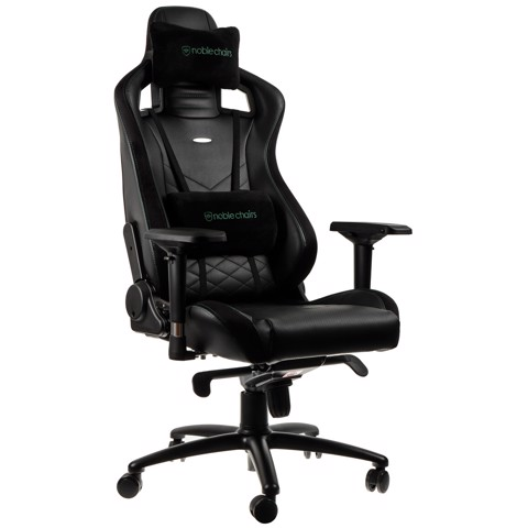 Ghế Gaming Noble Chair - Epic Series Black/Green