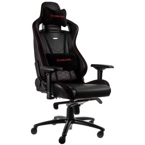 Ghế Gaming Noble Chair - Epic Series Black/Red